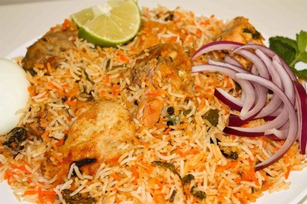 Chicken (with bone) Dum Biryani